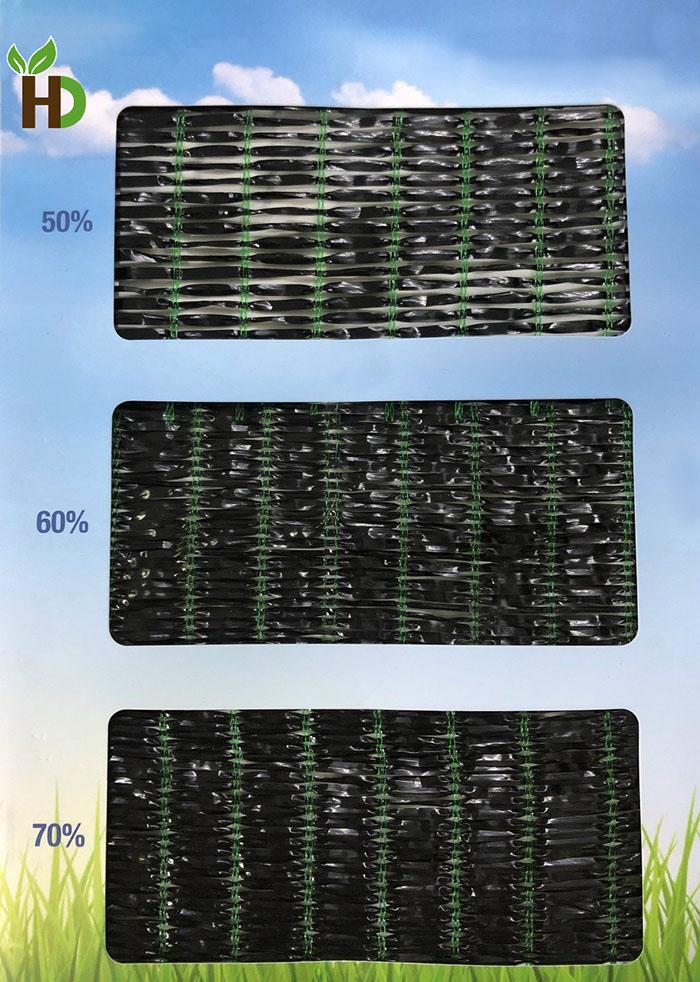 Độ che phủ của lưới Thái Lan