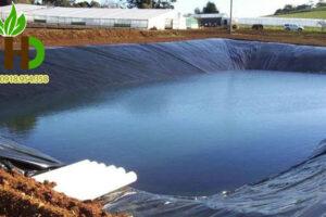 Bạt lót hồ chứa nước, ao tôm, hồ nuôi tôm