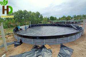 Hướng dẫn làm hồ cá bằng bạt HDPE